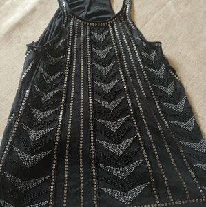 Express beaded tank top size small